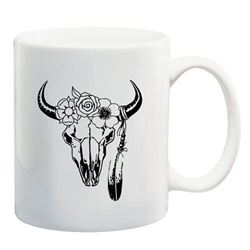 RumblinRose Karoo Cow-Horn Coffee Mug